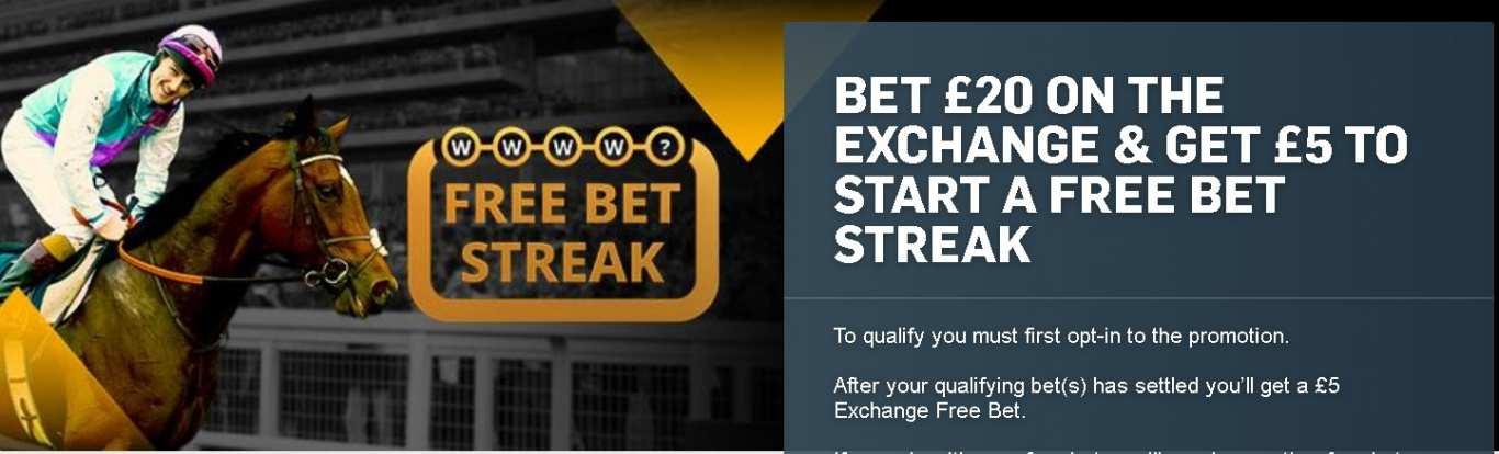 Betfair free bet promo code