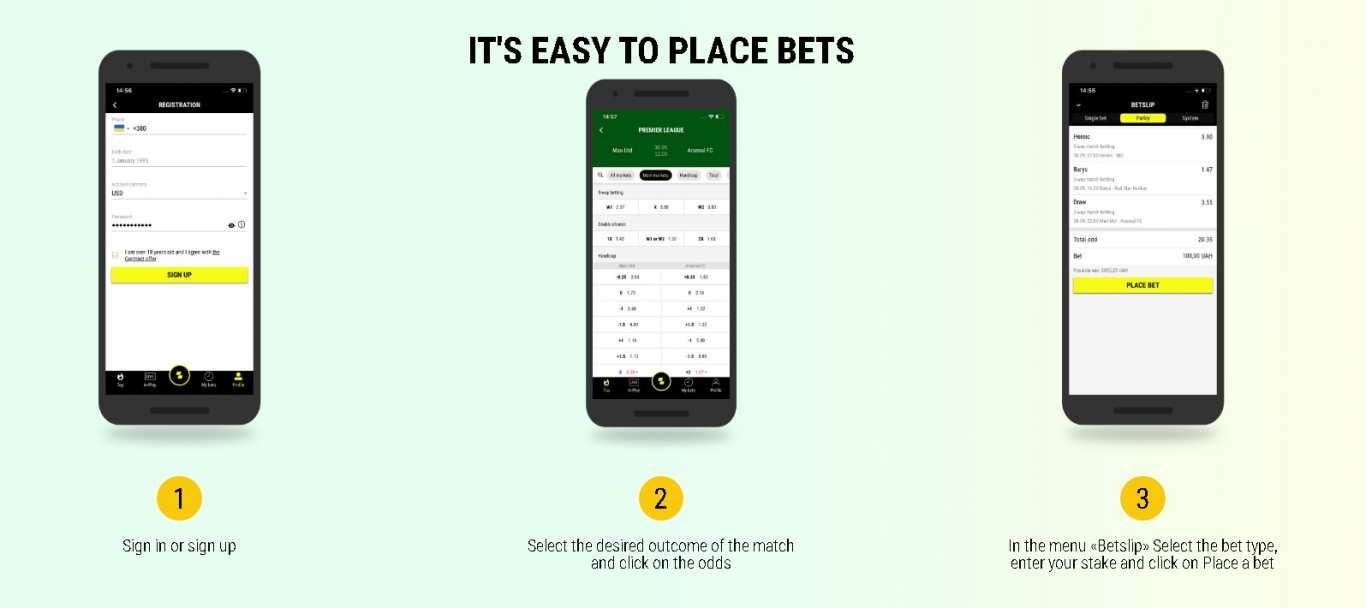 Parimatch mobile apps
